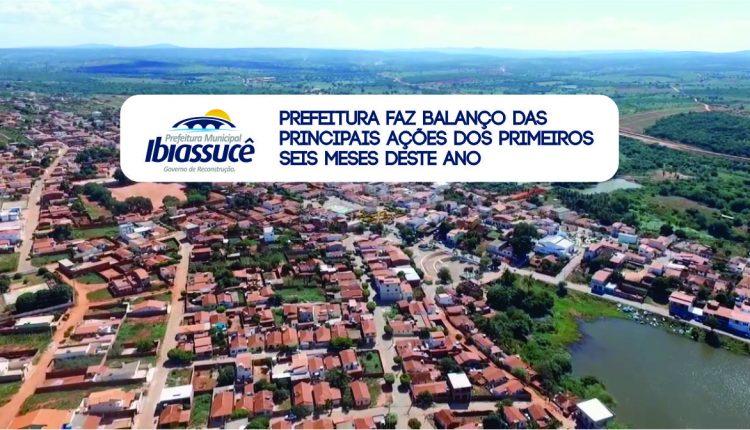 PREFEITURA FAZ BALANÇO DAS PRINCIPAIS AÇÕES DOS PRIMEIROS 6 MESES DESTE ANO