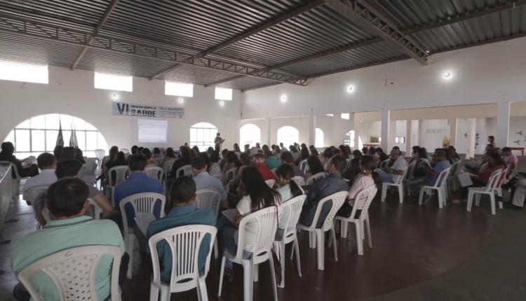 VI CONFERÊNCIA MUNICIPAL DE SAÚDE É REALIZADA EM IBIASSUCÊ