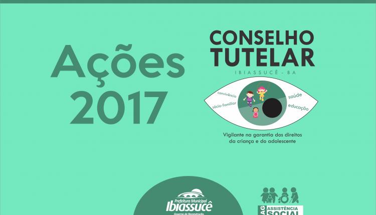 Ações do Conselho Tutelar no ano de 2017
