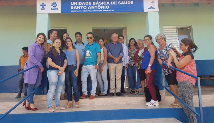 Unidade Básica de Saúde de Santo Antônio é entregue pela Prefeitura