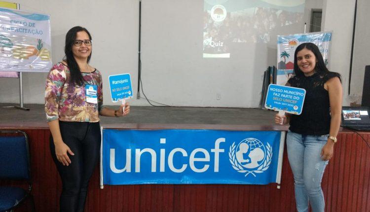 Representantes do Selo Unicef em Ibiassucê participam do 2º ciclo de capacitações