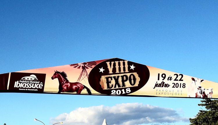 VIII EXPO Ibiassucê 2018: Fortalece a economia e o conhecimentos dos agricultores da cidade