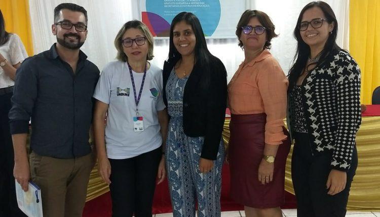 Secretaria Municipal de Educação participa de Encontro de Dirigentes do Território Sertão Produtivo, na cidade de Brumado