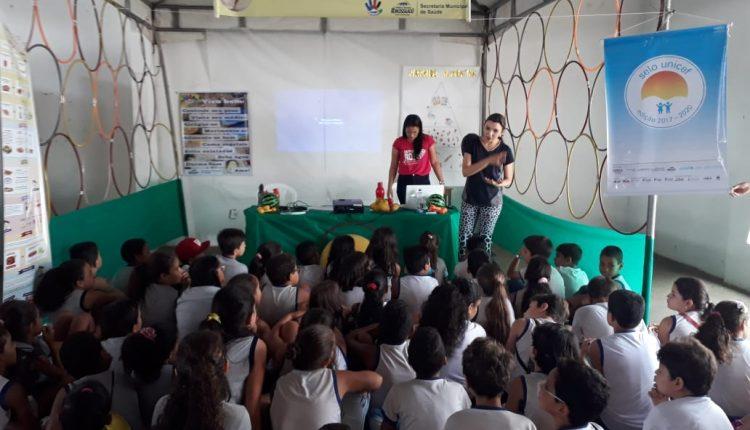 Programa Saúde na Escola é realizado No clube Náutico de Ibiassucê