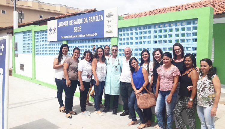 Prefeitura Inaugura obras de reforma do posto de saúde da Rua Bahia