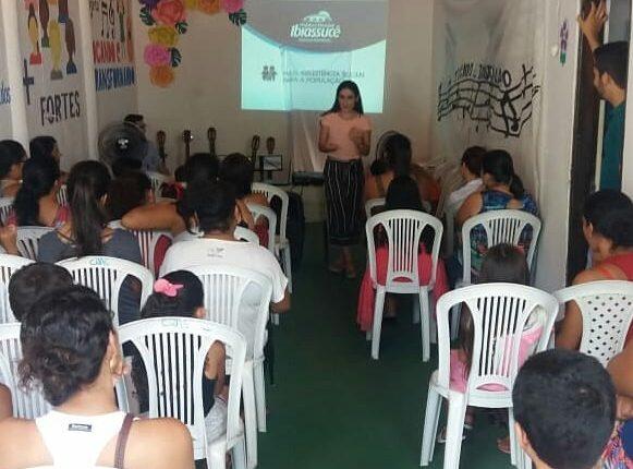 Cras realiza abertura do projeto Tocando e Transformando