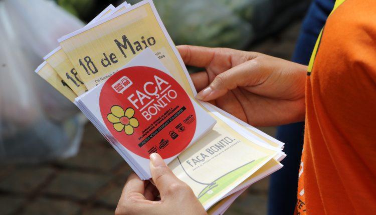 Faça Bonito: Prefeitura de Ibiassucê promoveu ações de conscientização para o combate do abuso sexual de crianças e adolescentes