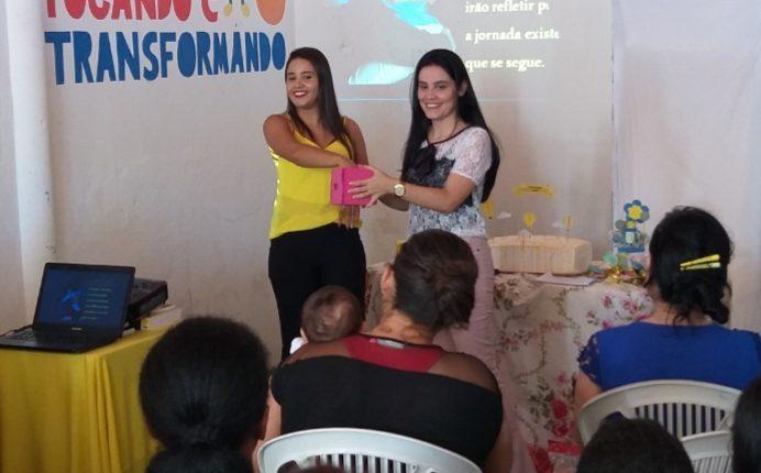 CRAS realiza palestra com famílias do Programa Primeira Infância no Suas