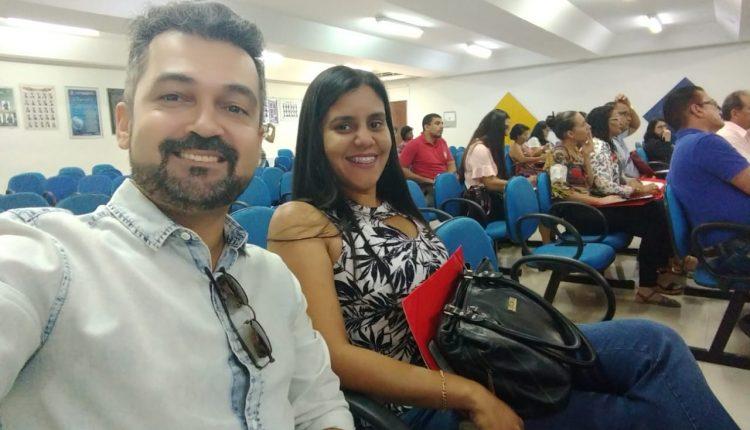 Representando Ibiassucê participam do primeiro encontro intermunicipal dos Fóruns Municipais de Educação