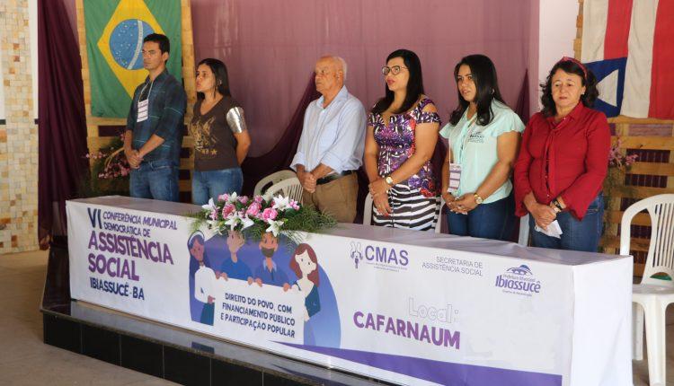 Prefeitura de Ibiassucê realiza a VI Conferência Municipal de Assistência Social