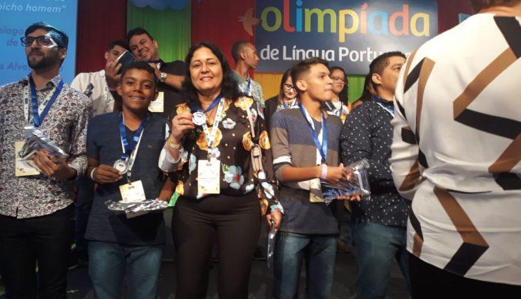 Estudante de Ibiassucê é Bronze e Prata e garante classificação na etapa final na Olimpíada de Língua Portuguesa