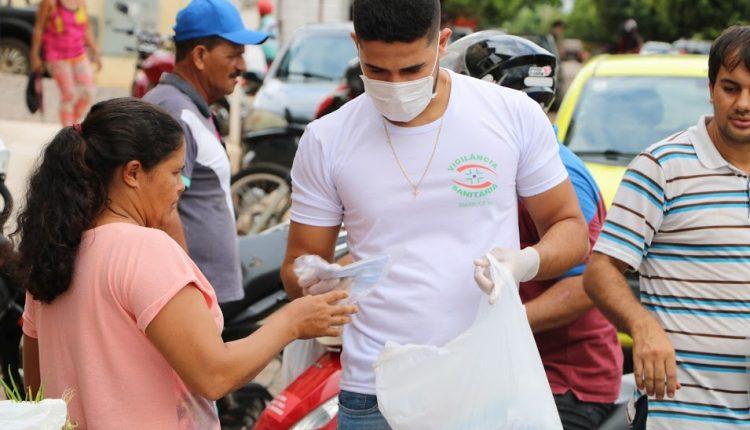 Prefeitura de Ibiassucê inicia distribuição de máscaras de tecido