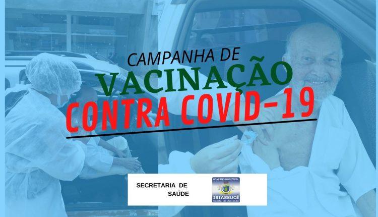 Campanha de vacinação contra COVID-19 para pessoas idosas